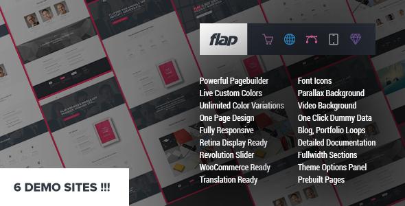 FLAP - Business WordPress Theme