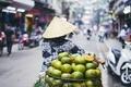 Fruit seller in Hanoi - PhotoDune Item for Sale