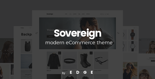 Sovereign - Minimal Fashion & Clothing Store Theme