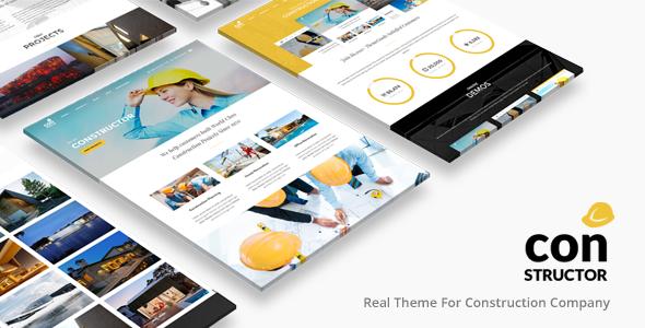 Construction Company | Construction WordPress for Construction Company