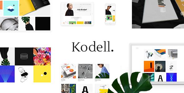 Kodell - Creative Portfolio Theme for Designers and Agencies