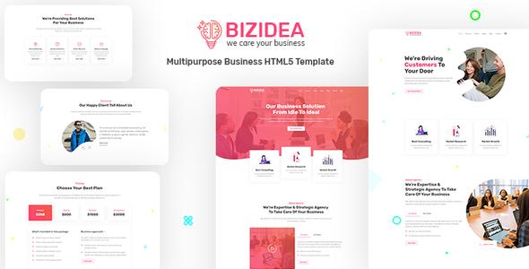 Bizidea   Multipurpose Business HTML5 Template