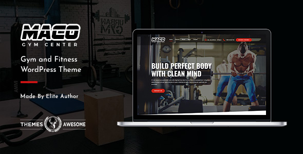 Maco | Gym and Fitness WordPress Theme