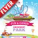 Amusement Park Business Flyer - GraphicRiver Item for Sale