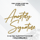 Amostely Signature - GraphicRiver Item for Sale