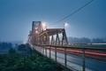 Bridge in mysterious fog - PhotoDune Item for Sale