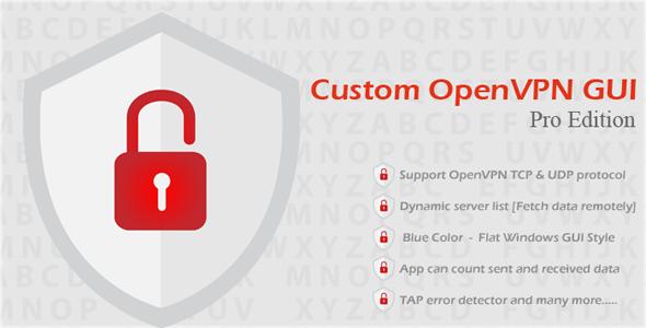 Niestandardowe GUI OpenVPN Pro Edition