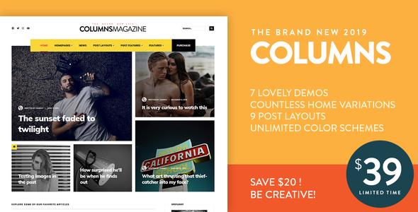 Columns – Impressive Magazine and Blog theme