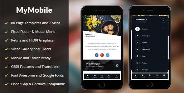 MyMobile Mobile   PhoneGap & Cordova Mobile App
