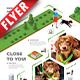 Dog Walking App Business Flyer - GraphicRiver Item for Sale