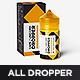 All Sizes Vape / Unicorn / Dropper Bottle MockUp - GraphicRiver Item for Sale