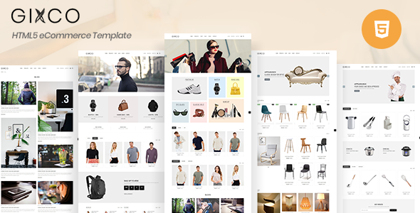 Gixco - eCommerce HTML Template