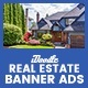 C30 - Real Estate Banners HTML5 Ad - GWD & PSD