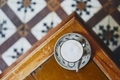 Cup of coffee on wooden table - PhotoDune Item for Sale