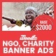C33 - NGO, Charity HTML5 Ad - GWD & PSD
