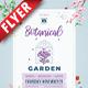 Botanical Garden Business Flyer - GraphicRiver Item for Sale