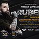 Artist Music Event Flyer - GraphicRiver Item for Sale