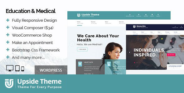 Upside - Multi purpose WordPress theme