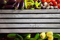 Fresh Organic Vegetables on Wooden Table - PhotoDune Item for Sale