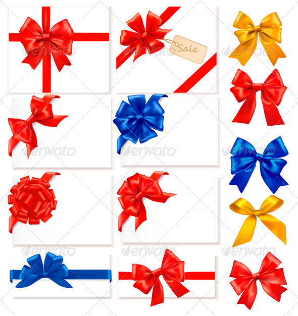Big Collection of Color Gift Bows
