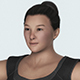 Realistic Japanese Fat Woman - 3DOcean Item for Sale