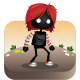 Shadow Red Head Girl Game Asset - GraphicRiver Item for Sale