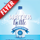 Water Bottle Business Flyer - GraphicRiver Item for Sale