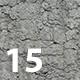 Set of 15 Various Concrete Floor Textures Volume 1 - 3DOcean Item for Sale
