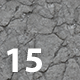 Set of 15 Various Concrete Floor Textures Volume 2 - 3DOcean Item for Sale