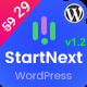 StartNext - IT Startups WordPress Theme