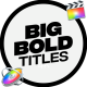 Modern Big Titles