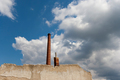 Ruins of abandoned and dilapidated factory - PhotoDune Item for Sale