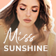 Miss Sunshine - Lifestyle & Beauty Women Blog - ThemeForest Item for Sale