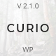 Curio - Responsive Minimal Blog Theme - ThemeForest Item for Sale