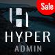 Hyper - Responsive Admin Dashboard Template - ThemeForest Item for Sale
