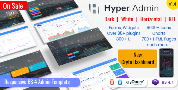 hyper admin features preview 01.  large preview