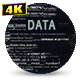 Data Stream Glitched - VideoHive Item for Sale