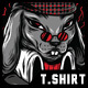 Sly of Death  T-Shirt Design - GraphicRiver Item for Sale