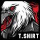 Dark Hunter T-Shirt Design - GraphicRiver Item for Sale