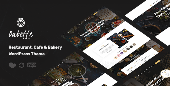 Babette - Restaurant & Cafe WordPress Theme