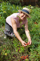 Cheerful Senior Woman Gardening - PhotoDune Item for Sale