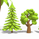 Lowpoly Trees - 3DOcean Item for Sale