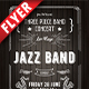 Jazz Band Business Flyer - GraphicRiver Item for Sale