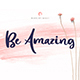 Be Amazing Font - GraphicRiver Item for Sale