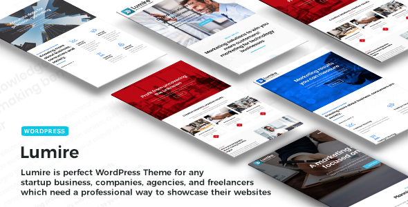 Lumire - Multipurpose WordPress Business Theme