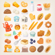 Baking Ingredients Icons - GraphicRiver Item for Sale