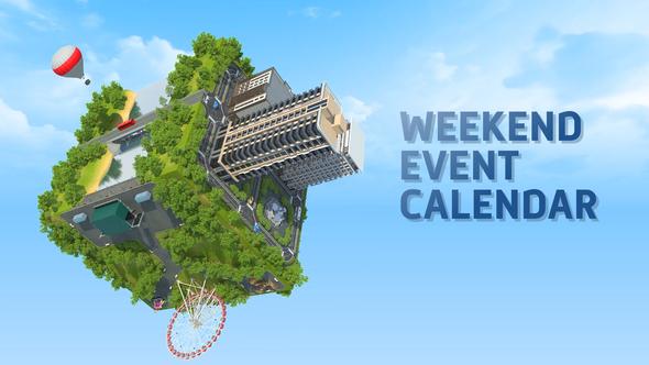 Weekend Event Calendar