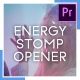 Energy Stomp Opener - VideoHive Item for Sale