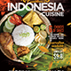Indonesia Cuisine Restaurant Promotion Flyer or Poster Template - Set of 3 Templates - GraphicRiver Item for Sale