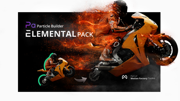 Particle Builder | Elemental Pack: Fire Sand Smoke Sparkle Particular Presets